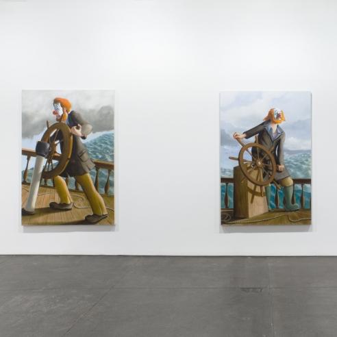 Sean Landers: Around the World Alone