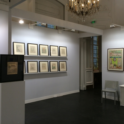 Outsider Art Fair Paris 2015
