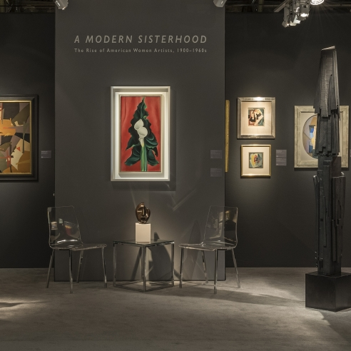 ADAA Art Show 2019 Hirschl & Adler Galleries