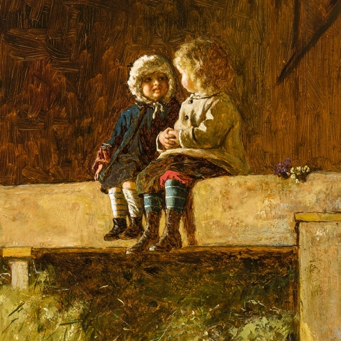 Eastman Johnson (1824–1906)