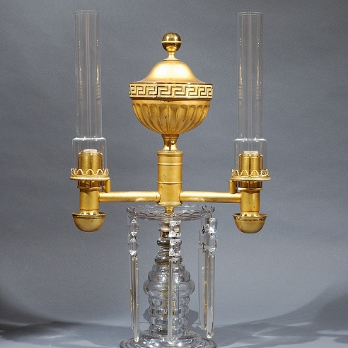 Double Argand Lamp