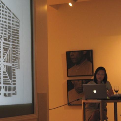 Lisa Tan with Lauri Firstenberg & Derrick Cartwright