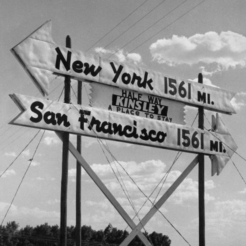 Coast to Coast: 1955-1956
