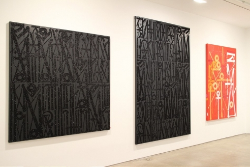 Exhibition View of Retna Articulate & Harmonic Symphonies of the Soul