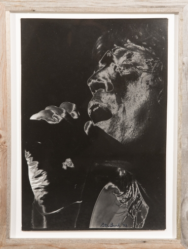 Piece from Mick, Keith, Charlie & Ronnie at Hg Contemporary