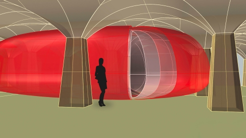 Rendering of Breathing Heart by Johanna Keimeyer at Hg Contemporary