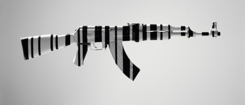 Why One Art Gallery Is Hanging AK47s On Its Walls