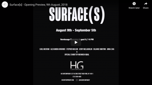 """Surface[s]"" - group show"