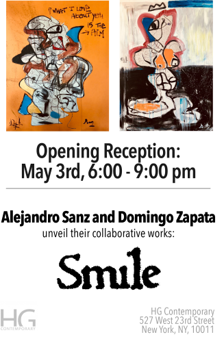 Alejandro Sanz and Domingo Zapata at Hg Contemporary
