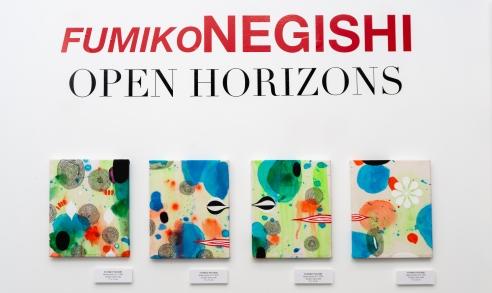 """Open Horizons"" by FUMIKO NEGISHI"