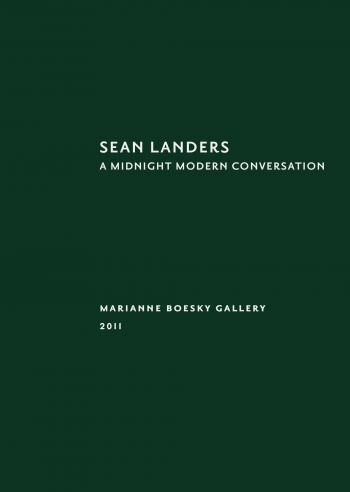 Sean Landers: A Midnight Modern Conversation
