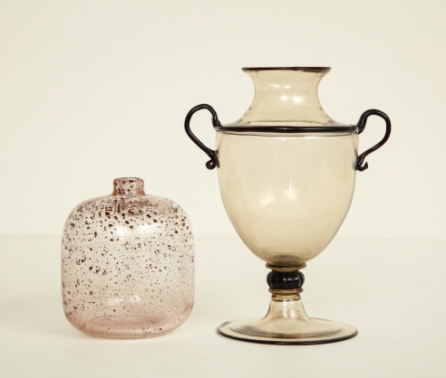 Delicate Miniature Glass Vases