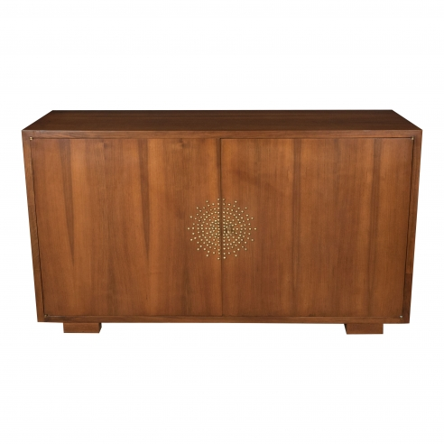 Jean Royere Buffet with Studded Sun Pattern