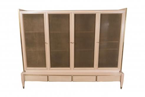 Italian Cabinet with Bronze Screens