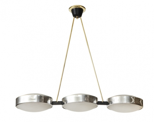 Three Light Suspension Fixture