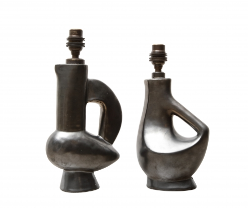 Rare petite lamps by Jacques Blin