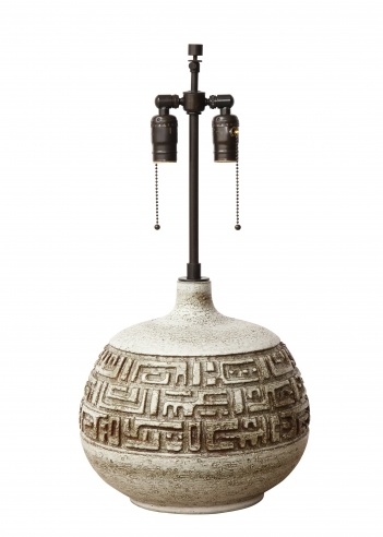 Monumental Lamp by Marius Bessone