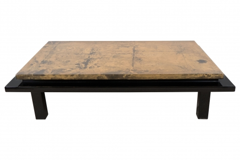Jansen Gilt Lacquered Low Table