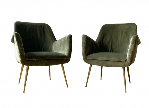 Pair of armchairs by Arflex