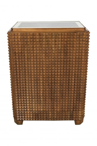 Paolo Buffa Cabinet Small Squares Brutal Front Bar