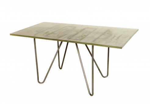 Rene Herbst style Dining Table / Desk