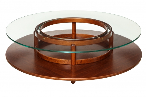 Coffee table by Gianfranco Frattini for Cassina