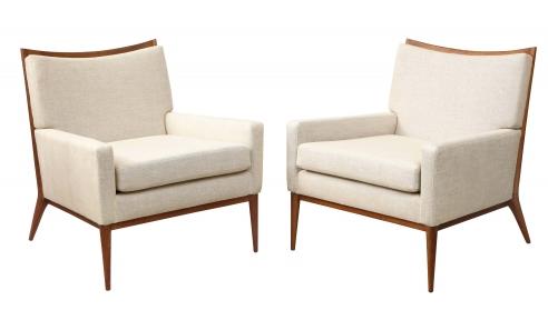 Pair of Paul McCobb Lounge Chairs