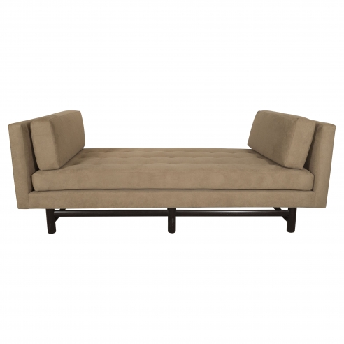 Upholstered daybed by Ed Wormley for Dunbar