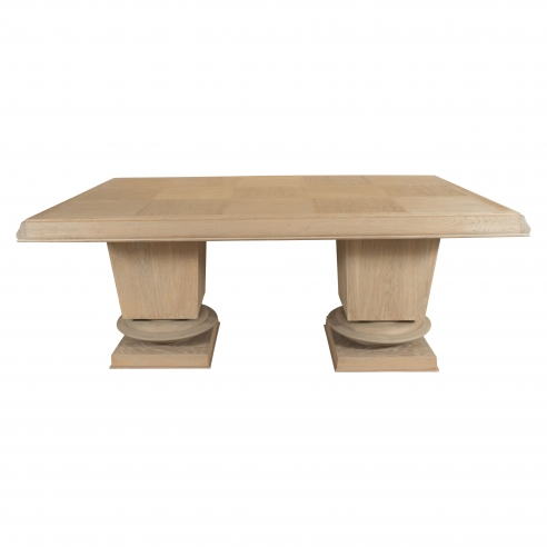 Jacques Kline Oak Dining Table