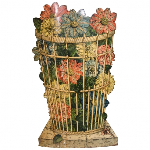 Floral Umbrella Stand by Fornasetti