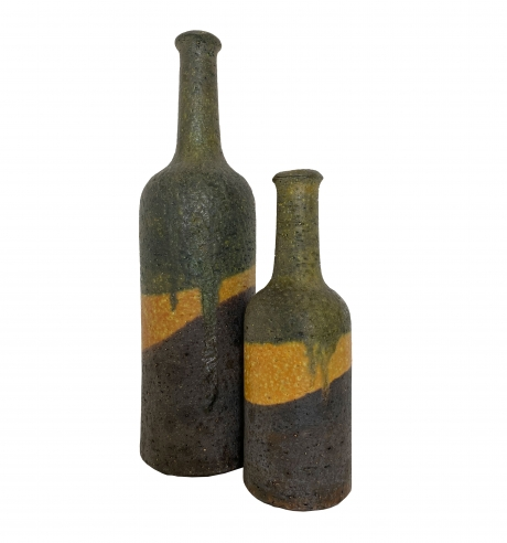Pair of Marcello Fantoni vases for Raymor