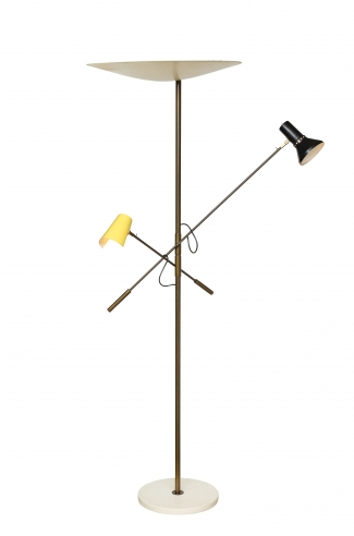 Floor lamp by Gino Sarfatti for Arteluce