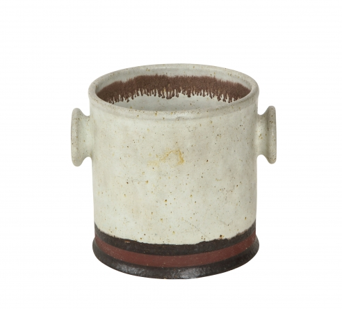 Ceramic vessel with by Bruno Gambone