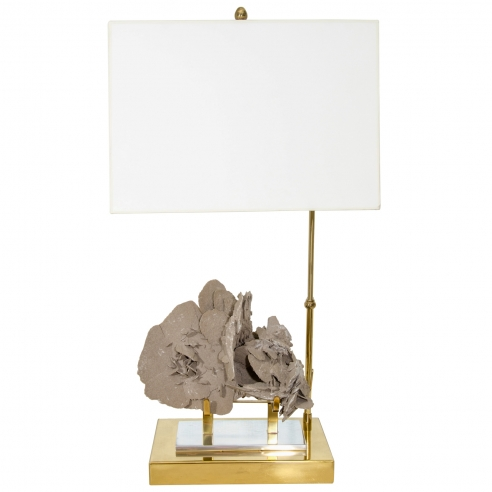 Specimen Stone Table Lamp