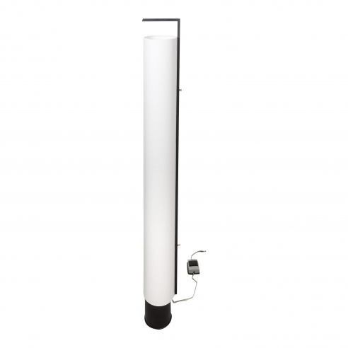 Arlus Tall Cylindrical Lamp with Shade