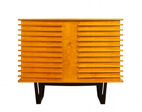 Storage Buffet with Molded Wood Blades