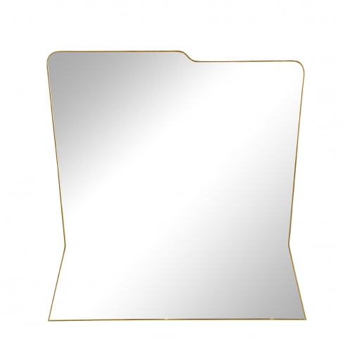 Asymmetrical Mirror in the Italian 1950's Style by Appel Modern