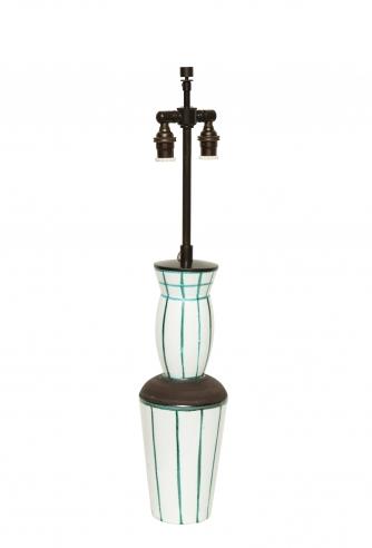 Ceramic Lamp by Olivier Gagnere