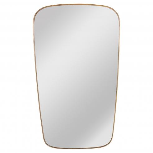 Italian Modernist Mirror in a Cushion Shape