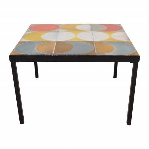 Roger Capron Tile Table