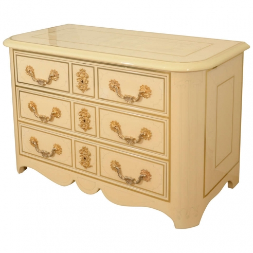 Three Drawer Commode by Bagues