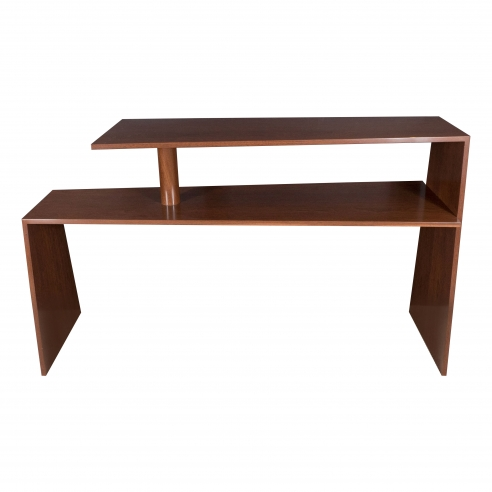 Eugene Prinz Modernist Two-Tier Console in Palm Wood
