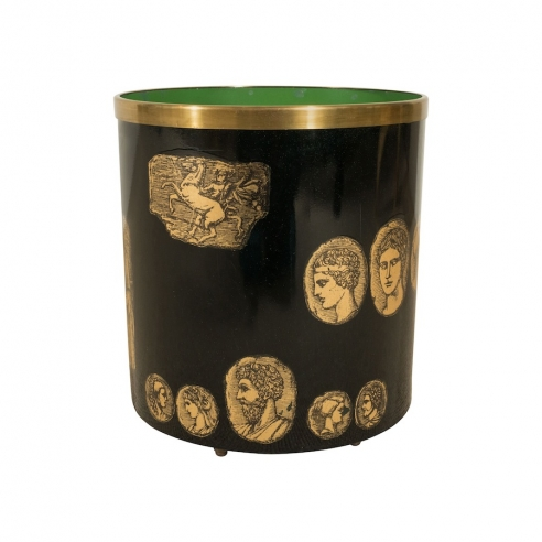 Waste Basket by Piero Fornasetti