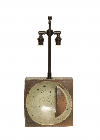 Sculptural Lamp by Pierre Digon