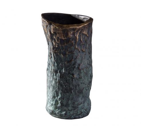 Jean Grisoni Bronze 'Pietra' Vase
