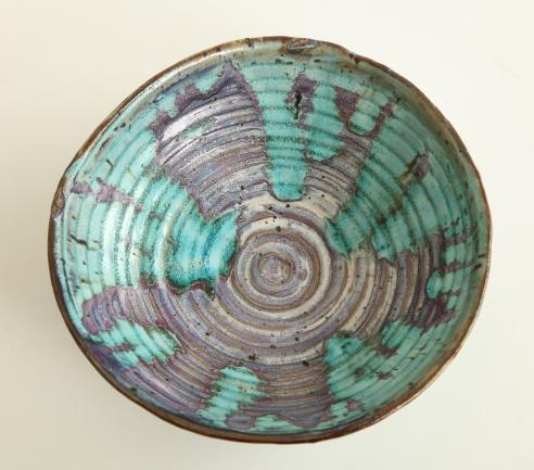Japonisme bowl by Eugène Lion for Primavera