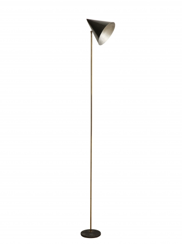 Early Rare Floor Lamp by Luigi Caccia