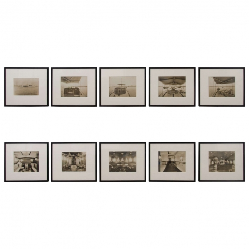 Yacht Photographs by Nathanial L. Stebbins / Set of 10