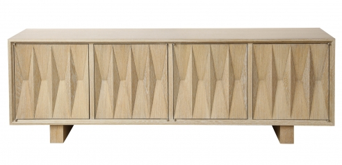 Sculpted Front Sideboard by Appel Modern