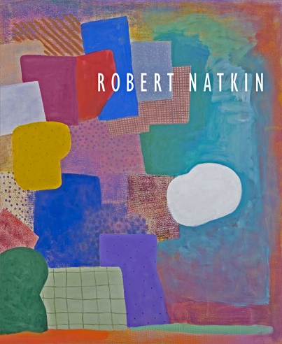 """image of the cover to exhibition catalogue, Robert Natkin, """"And the Days Are Not Full Enough"""""""